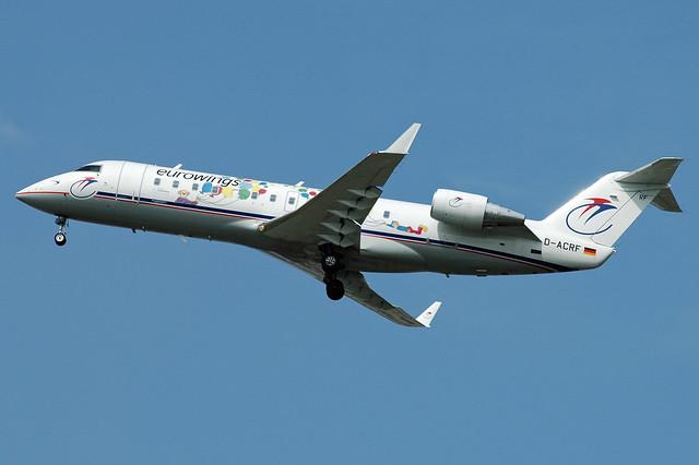 D-ACRF CRJ-200LR cn 7619 Eurowings (special) 040815 Schiphol