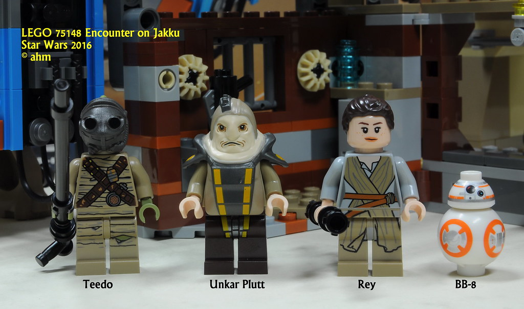 LEGO STAR WARS Rey MINIFIG new from Lego set 75148 Encounter on Jakku