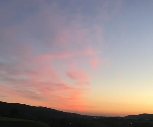 evening eveningskypattern colors pastel