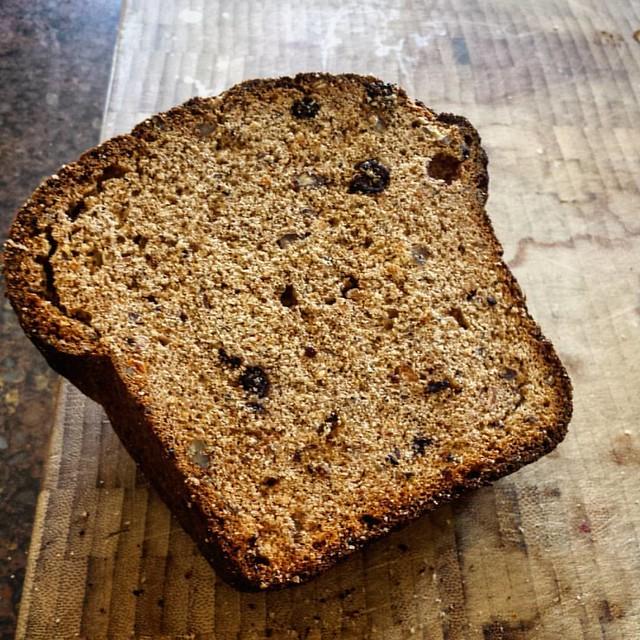 Maple Pecan Blueberry Bread