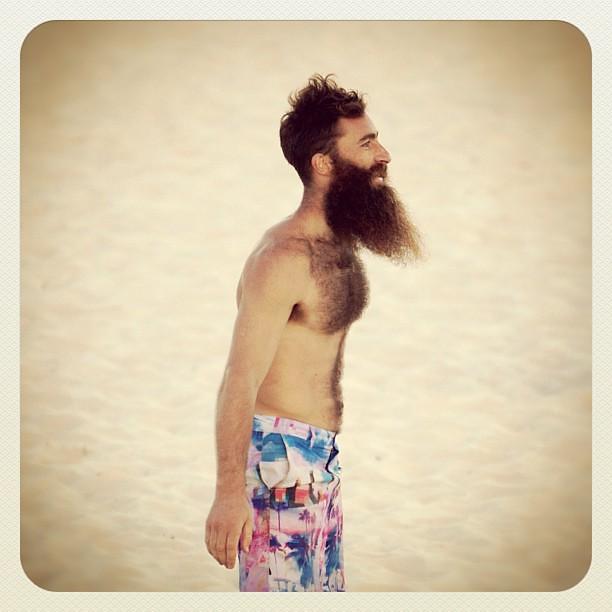 Best Beard in Bondi #beard #atbondi #bondi #beach #sydney #hair #man #sand