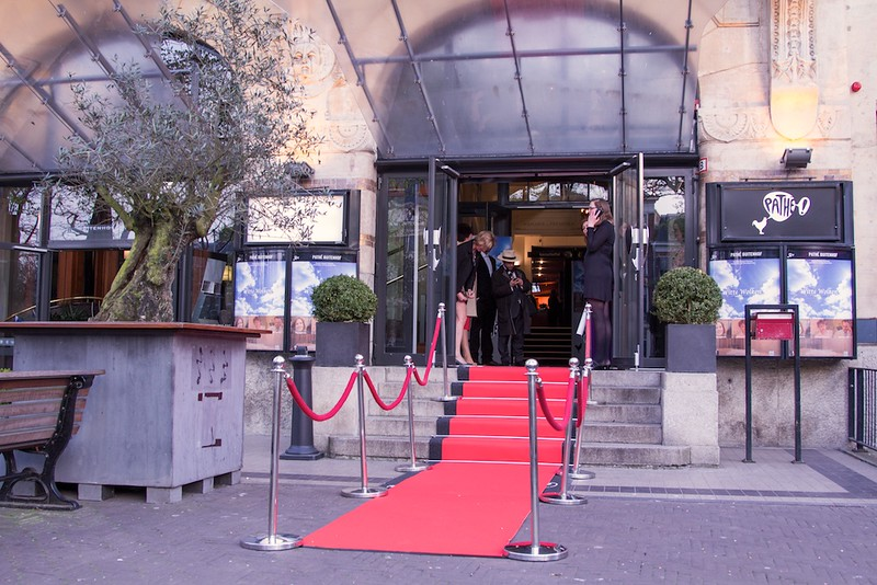 Red Carpet for Witte Wolken at Pathe Buitenhof