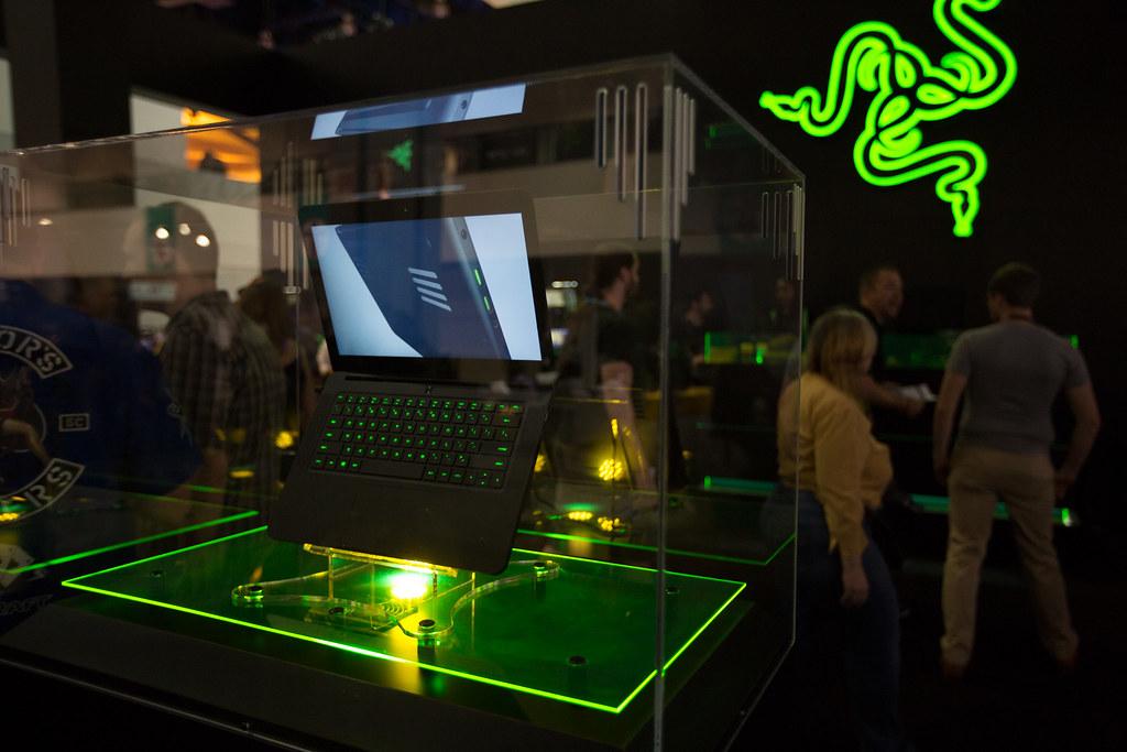 Scene from NVIDIA E3 Booth | NVIDIA Corporation | Flickr