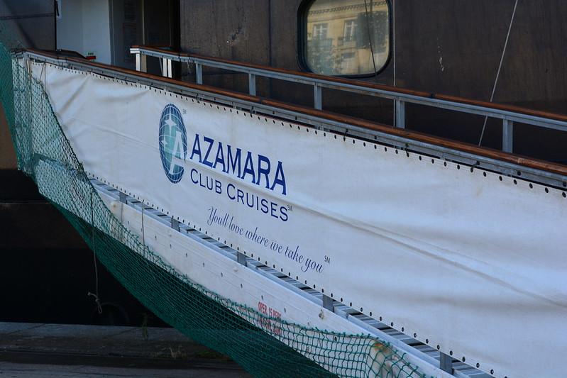 Visite de l'AZAMARA QUEST - Cérémonie de bienvenue - 20 aout 2013