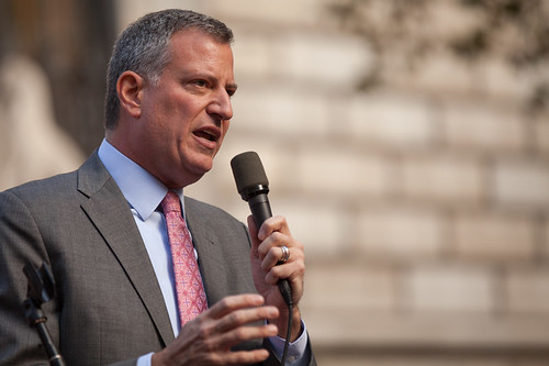 NYC Mayor Bill de Blasio | by @KevinCase
