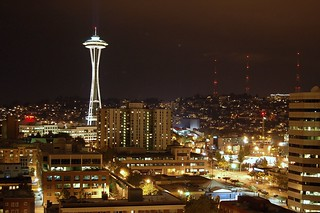 Seattle Skyline with Space Needle | by JWolff-STL