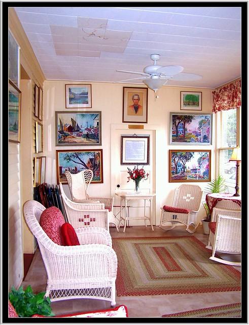 Hotel Lenhart ~ Bemus Point NY ~ Historic Hotel ~  Tea Room