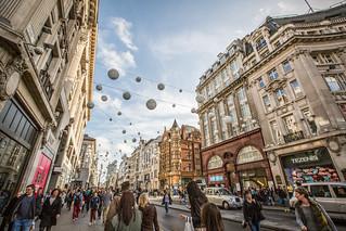 Regent Street & Oxford Street, London | by Tony Webster