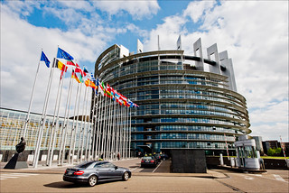 Sunny but cold, get inside for the action of the last plenary session of this term in the Strasbourg Parliament | by European Parliament