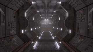 Spaceship Corridor | by asmoth360