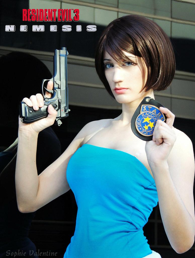 Jill Valentine Resident Evil 3 Nemesis Cosplayer Www Face