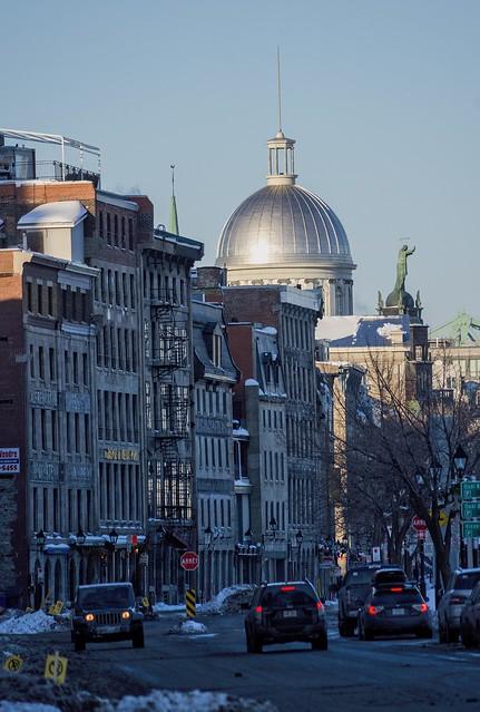 Vieux Montréal  sans touriste