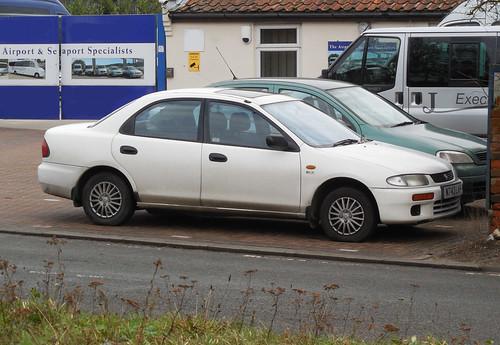 1995 Mazda 323 1.5 GLX Saloon | by Spottedlaurel