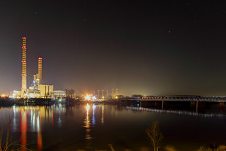 Night HDR - Electric Power Plant | by Francesco CescoP Pradella