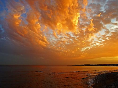 sunset españa atardecer mar spain andalucia costadelsol mediterráneo málaga marbella