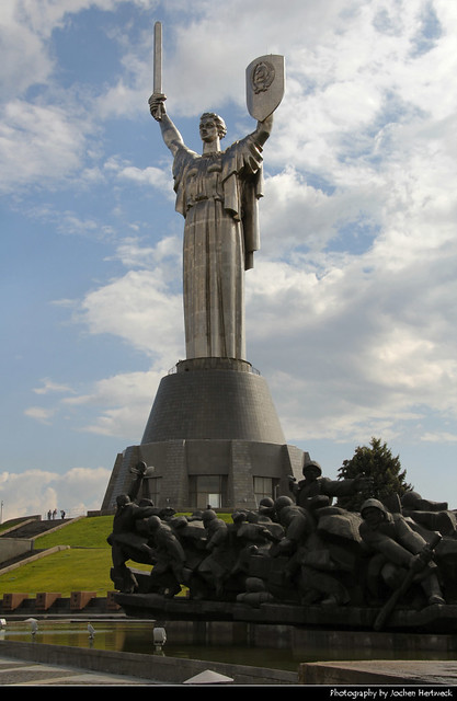 The Motherland Monument, Kiev, Ukraine