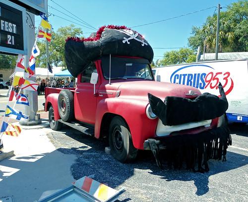 decorations festival truck florida pickuptruck international crystalriver s120