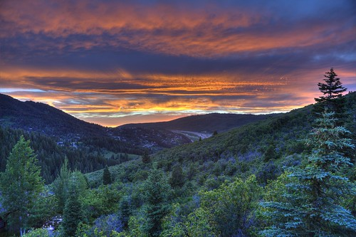 sunset summer canon outside outdoors utah hiking parkcity hdr outdooradventures canon5dmarkii beautahful