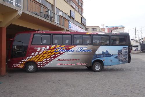 Unser Bus nach Uyuni