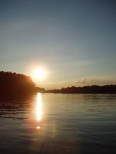 sunset ohio night clear deerfield berlinlake