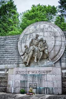 Memorial to André Maginot