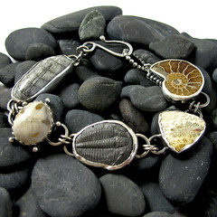 Fossilized Ocean Bracelet