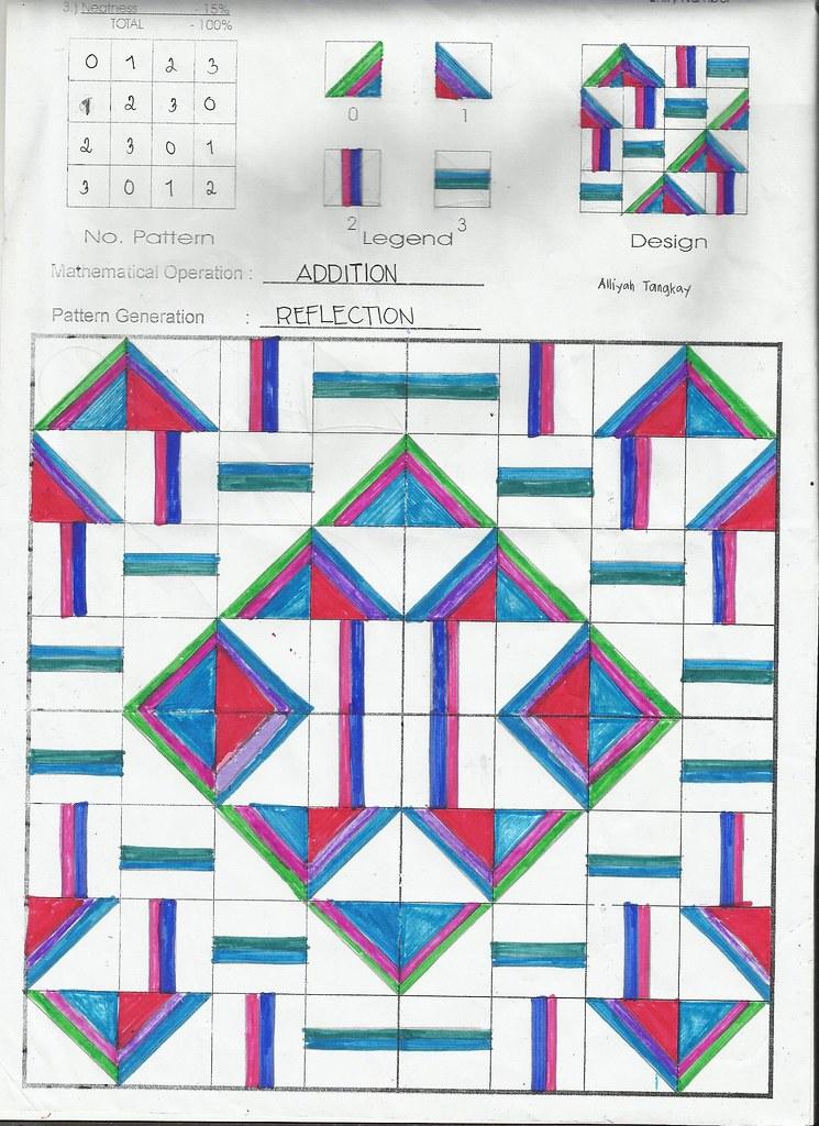 Modulo Art Square Grid Design Easy