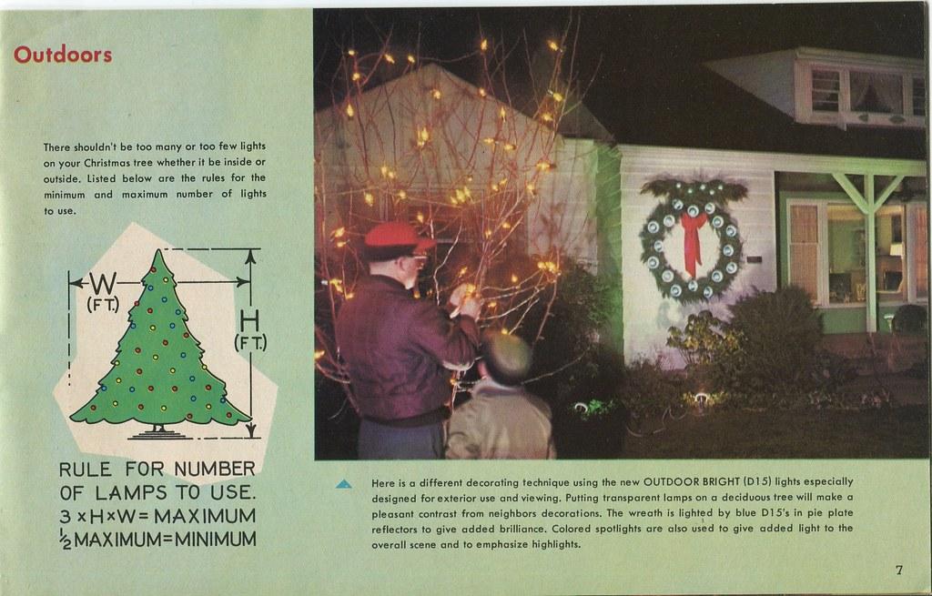 Ge Christmas Lights.Ge 1963 P7 General Electric Christmas Lighting And Decorat