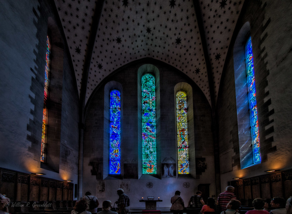 Image result for fraumunster chagall windows