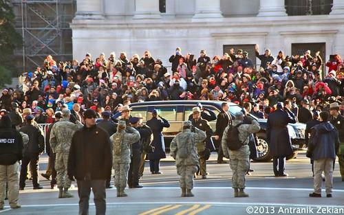 Obama's Introduction Day - Washington DC, DC, USA