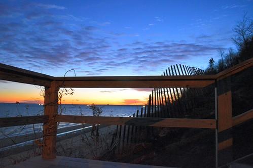 beach sunrise december longisland fortsalonga callahansbeach