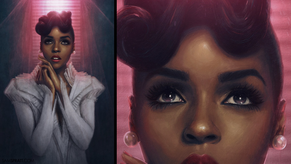 Janelle Monae - for Atlantic Records