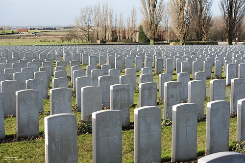 War Graves at Tyne Cot Cemetary, Belgium | by Defence Images