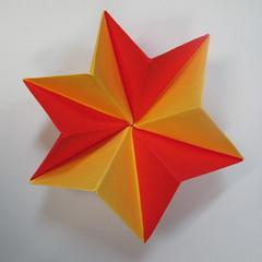 วิธีการพับกระดาษเป็นดาวหกแฉกแบบโมดูล่า 023