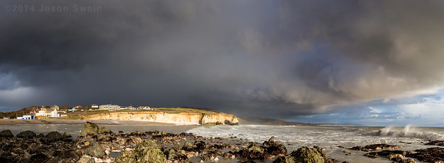 Storm Clouds over the Isle of Wight