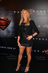 Superman: Man of Steel Premiere - Annalise Braakensiek