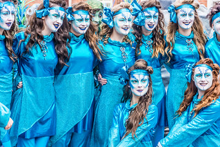 St. Patrick's Parade 2014 In Dublin - Backstage In Advance Of The Actual Parade | by infomatique