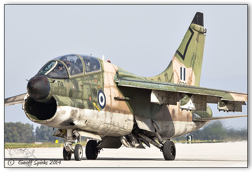 HAF A-7 Retirement, Spotters Day, Araxos B_248 | by Geoff Spinks Photography