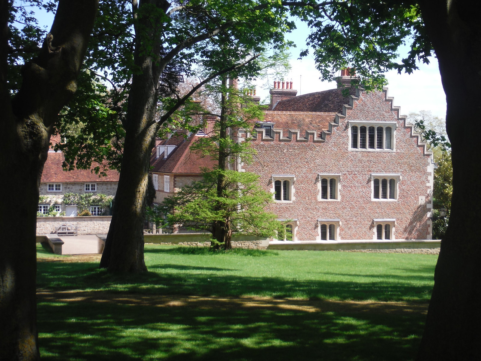Rycote House, from near entrance gate SWC Walk 190 - Thame Circular