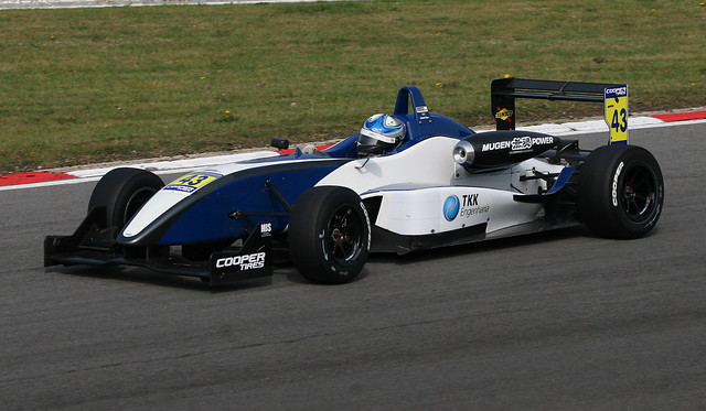 Gabriel Dias - T-Sport - Dallara F307 Mugen Honda