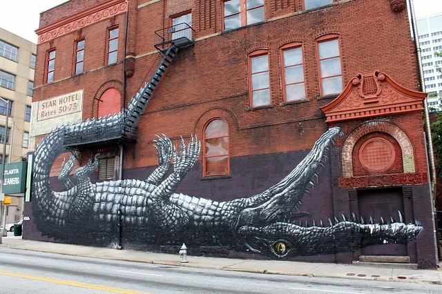 Atlanta - Downtown: Roa