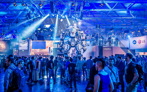 Titanfall robot at Gamescom 2013 | by Sergey Galyonkin