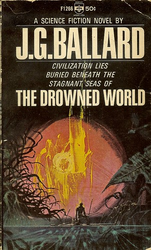 Drowned World - J.G. Ballard - cover artist Richard Powers