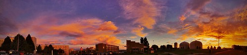 morning sky panorama usa nature sunrise landscape colorado pueblo iphone csup coloradostateuniversitypueblo iphonography iphone4s uploaded:by=flickrmobile flickriosapp:filter=nofilter