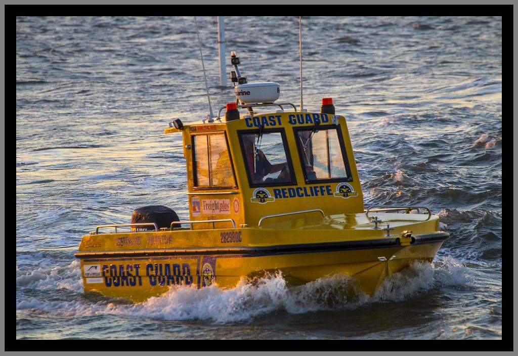 Redcliffe Coast Guard at dusk-1=