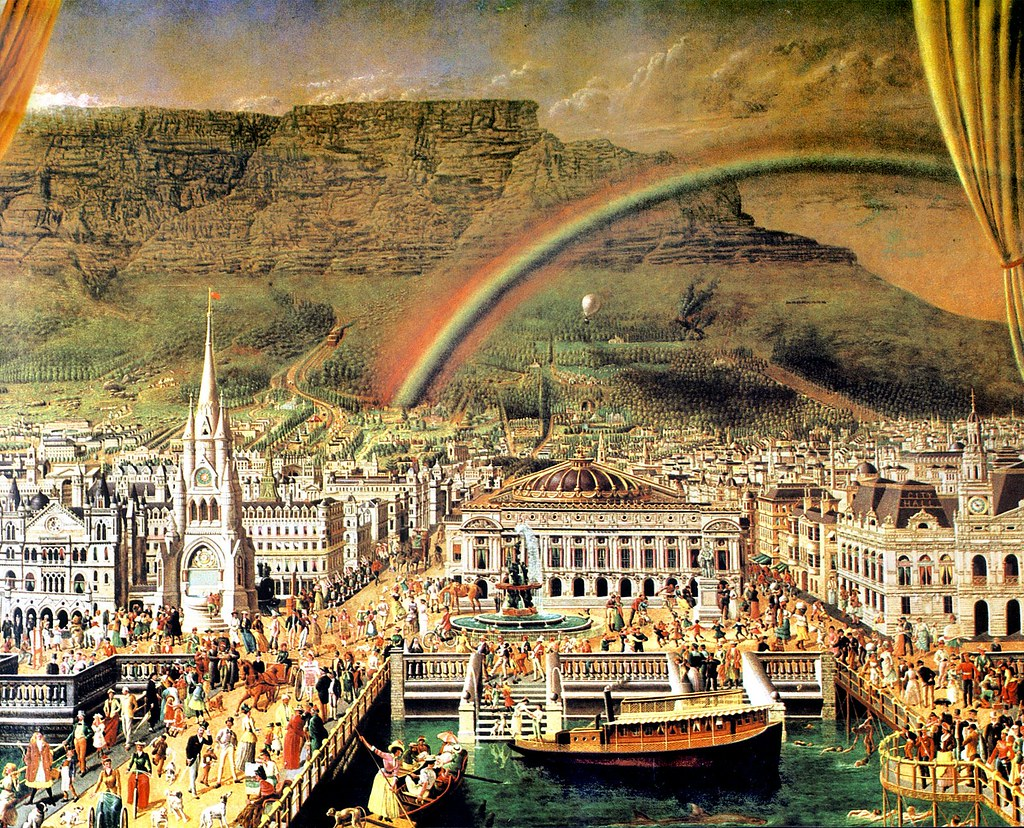 Future Cape Town A Painting Done In 1899 By James Ford I Flickr