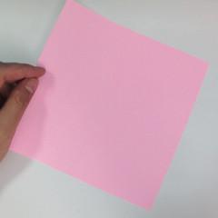สอนการพับกระดาษเป็นลูกสุนัขชเนาเซอร์ (Origami Schnauzer Puppy) 001