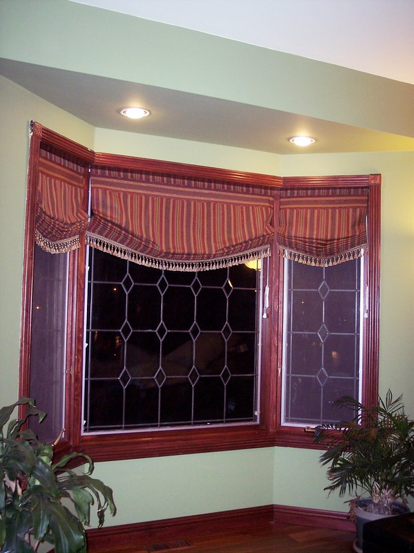 Relaxed Roman Shades Up
