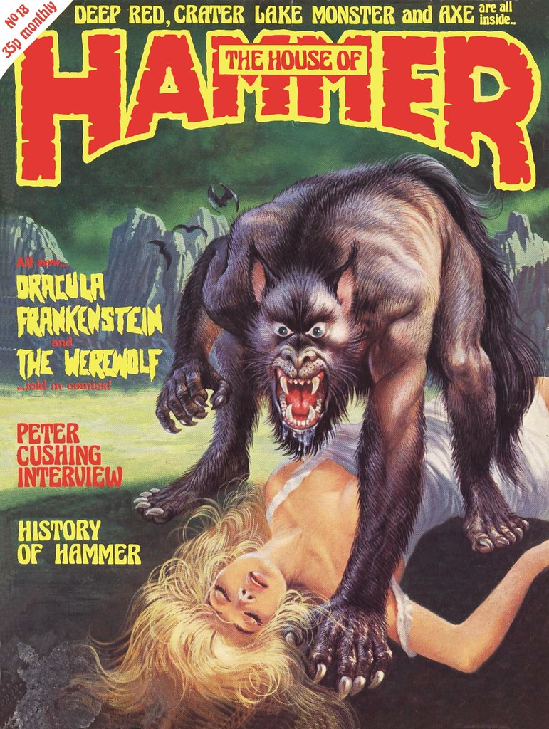 The House Of Hammer the house of hammer (issue #18) | cover art by bill phillips