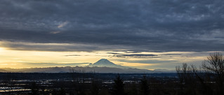 Rainier Under Clouds | by Jonathan Miske
